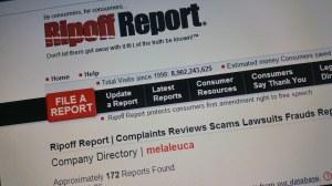 Rip Of Report