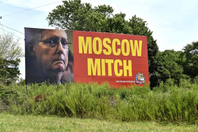 Moscow Mitch shammed