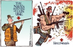 124280-NRA-vs-Hollywood-Guns-by-Rick-McKee-The-Augusta-Chronicle0-515x333