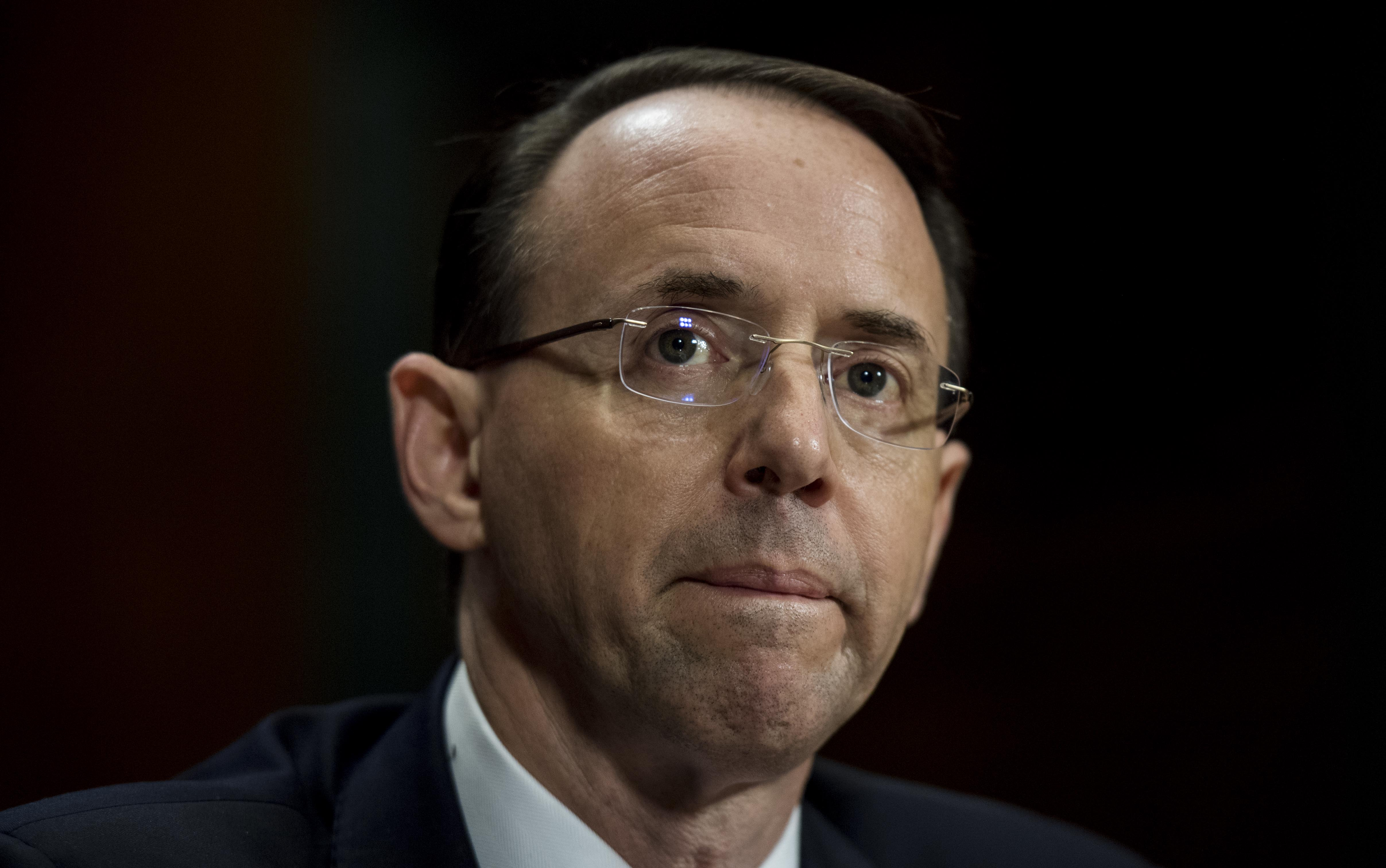 Nominees for Deputy Attorney General, Rod Rosenstein,  and Rachel Brand nominated for Associate Attorney General
